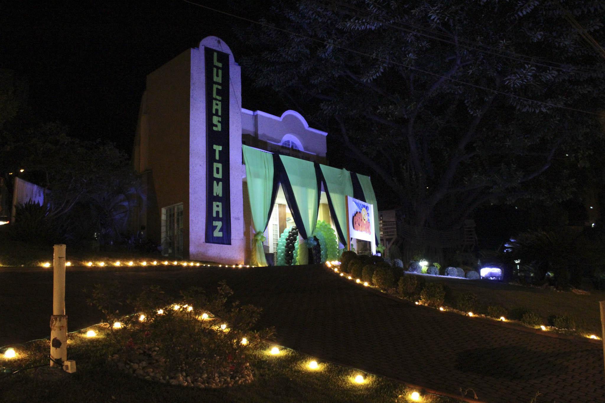 Fachada Casa do Sol Noite