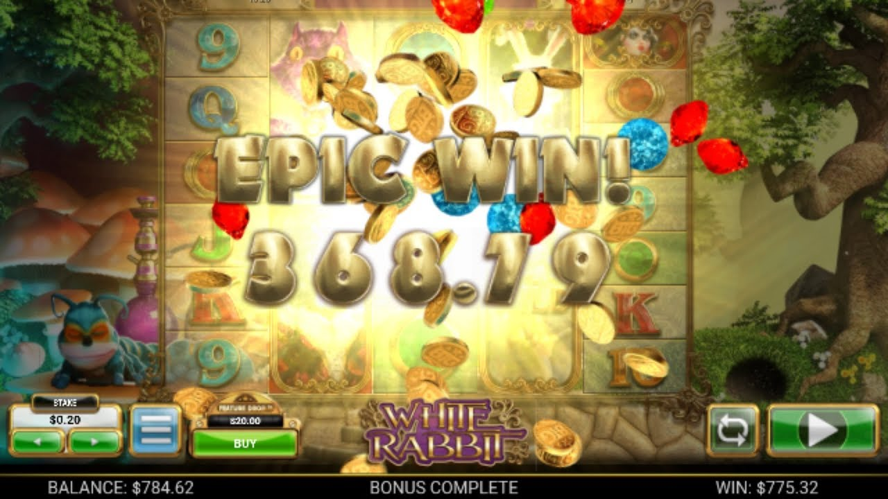 Record Win on White Rabbit Slot