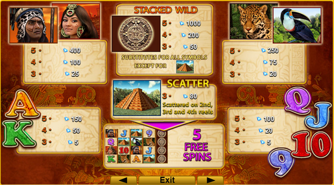 Mayan Spirit slot review