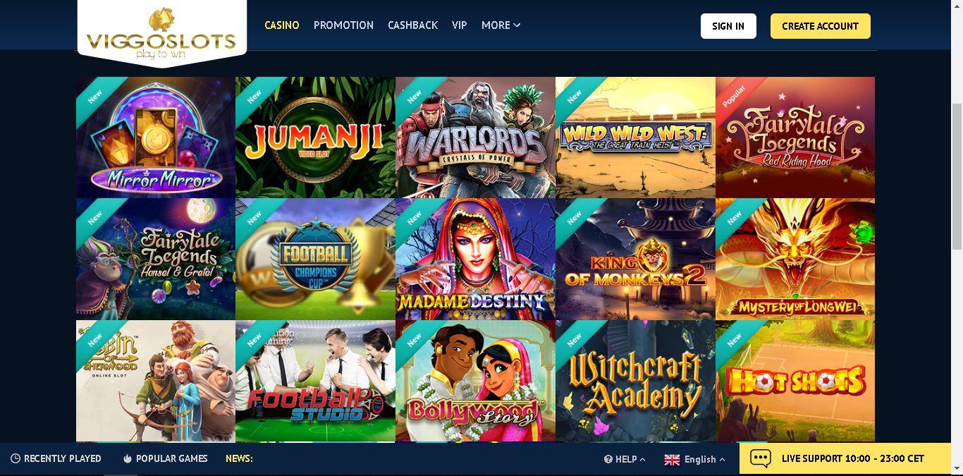 viggoslots casino slots