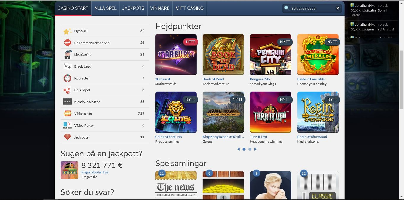 getlucky casino slots