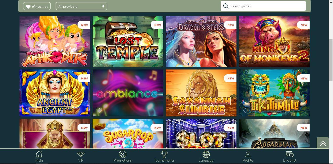 casinia casino slots