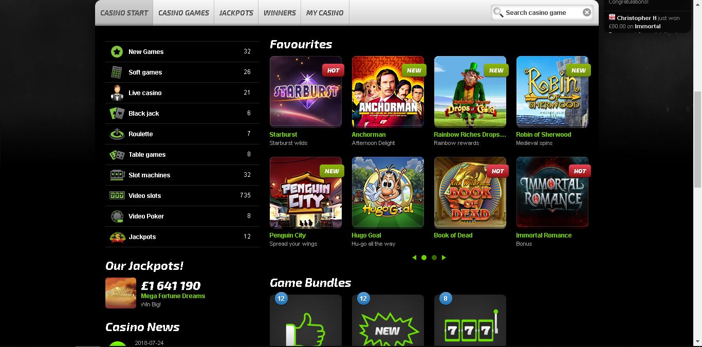 mobilebet casino slots