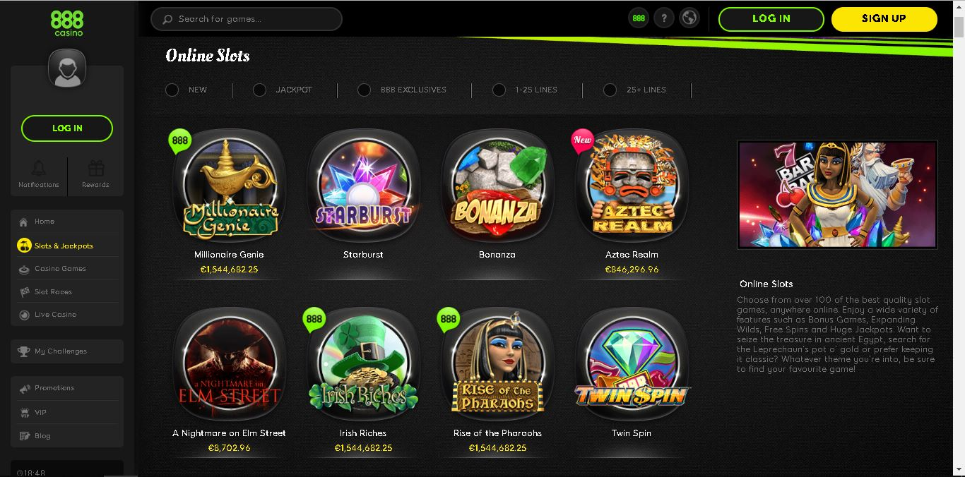 888casino Online Casino Review And Bonus Aboutslots