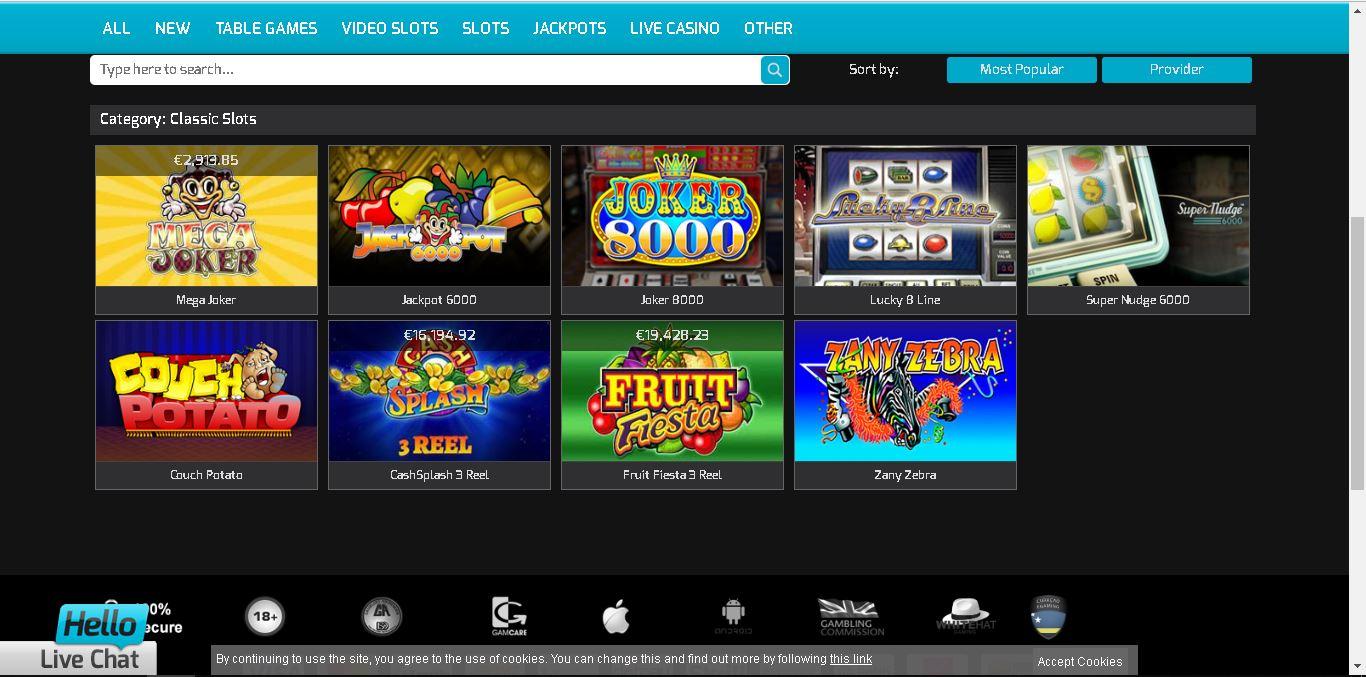 hello casino slots