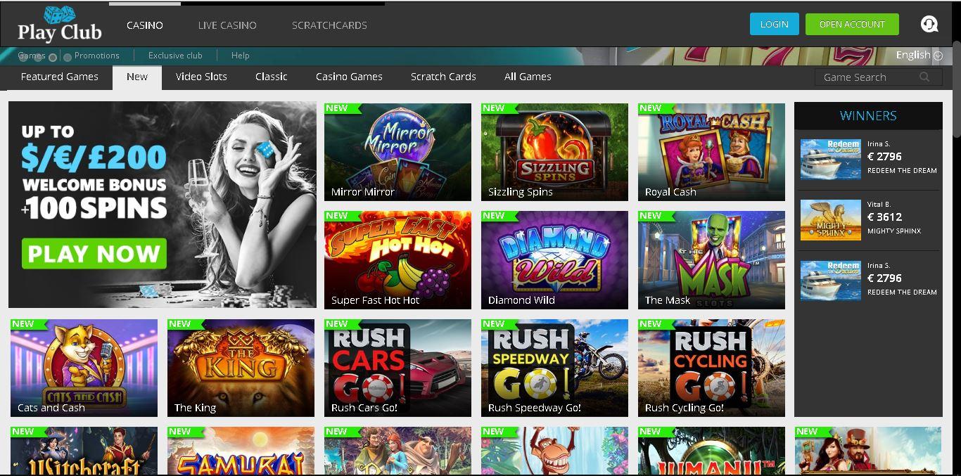 playclub slots