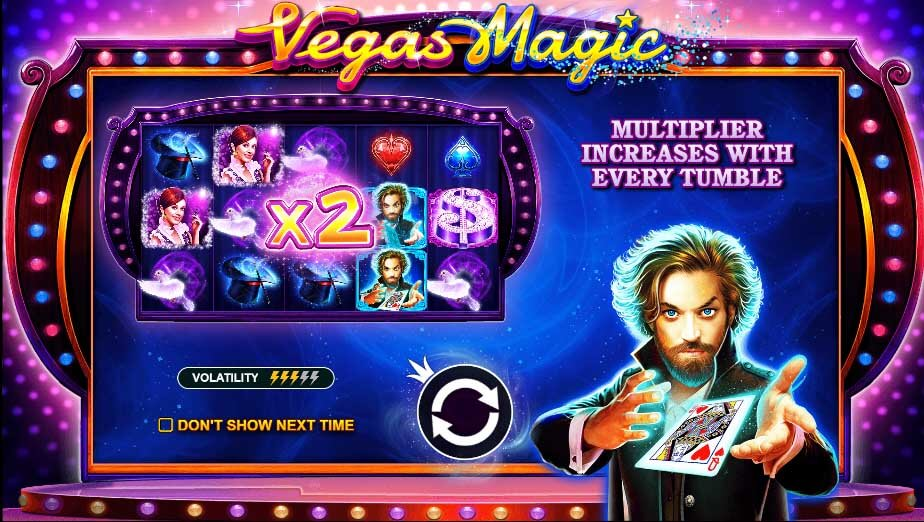 vegas magic slot pragmatic play