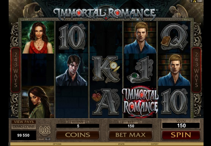immortal romance win