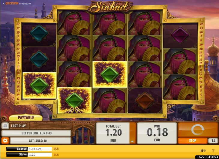 Sinbad Casino Game