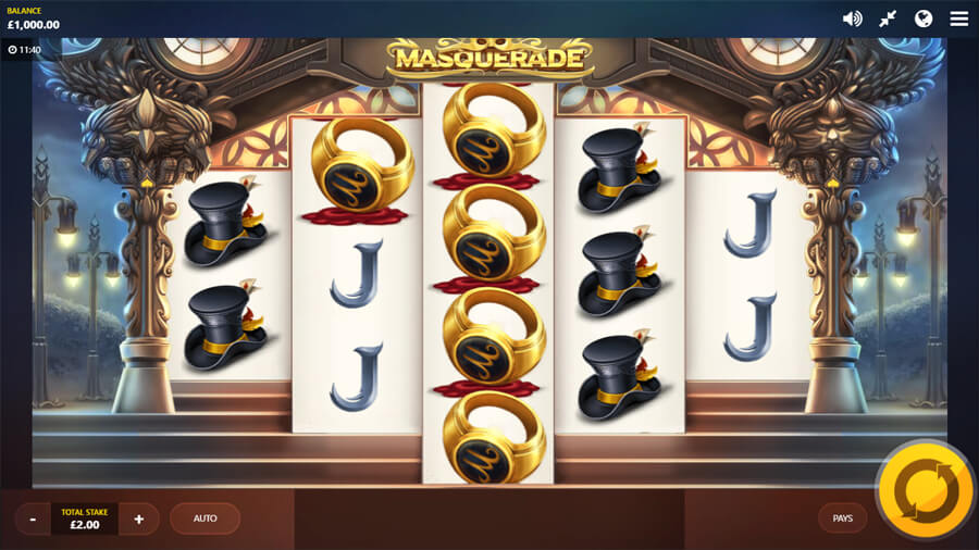 masquerade slot review