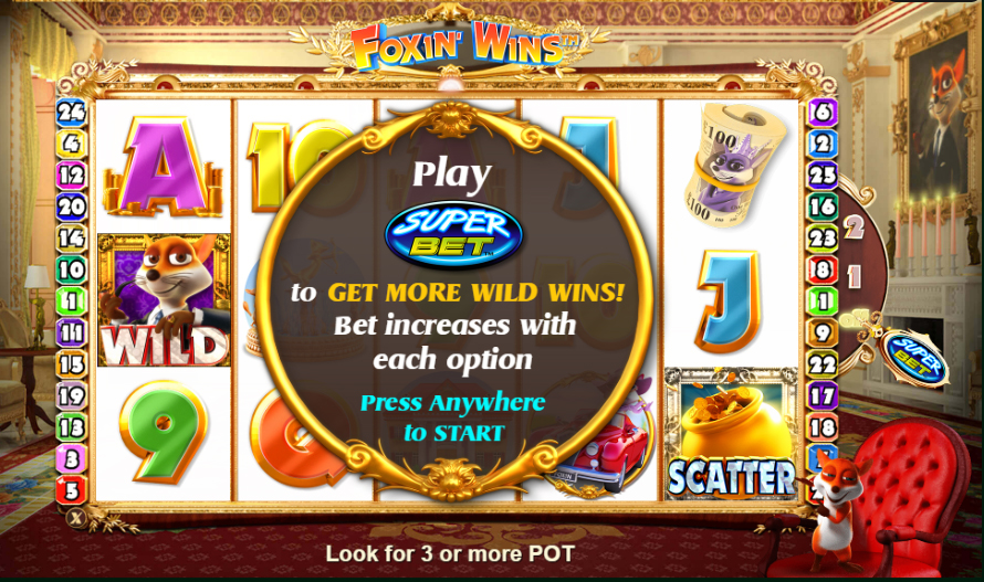 foxin wins slot review