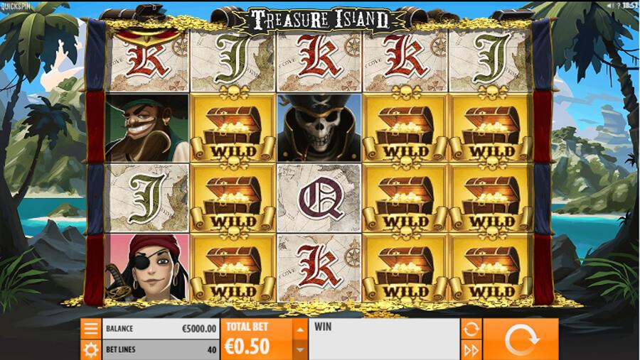 Treasure Island slot review