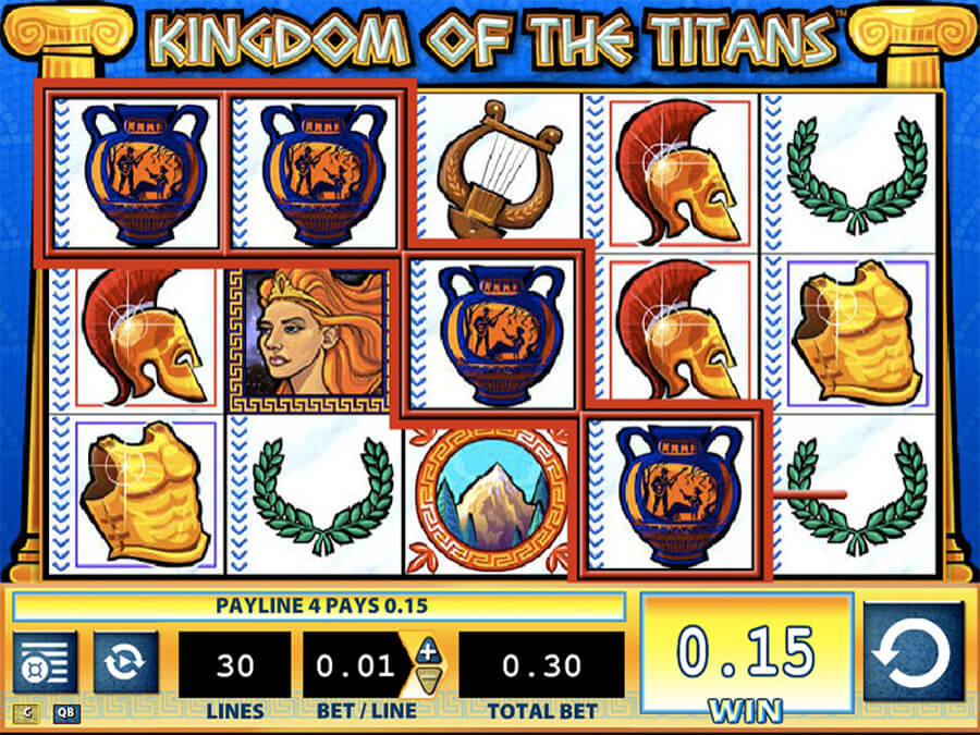 Kingdom of Titans slot review