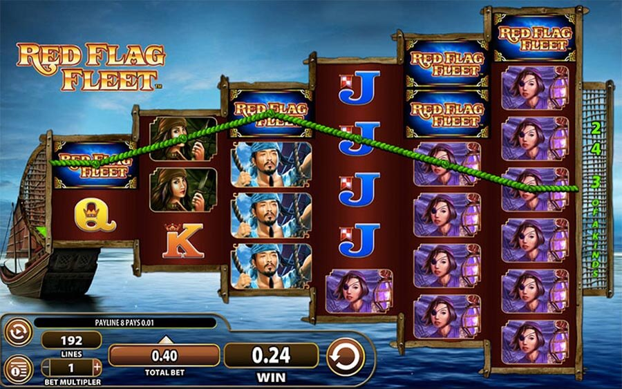 Red Flag Fleet slot review