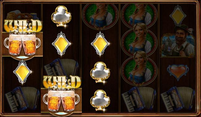 Heidi at Oktoberfest slot