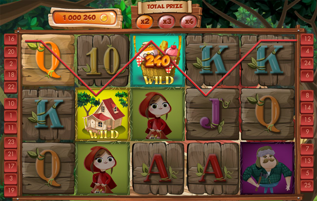 Little Red Riding Hood slot Red Rake Gaming