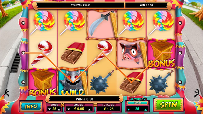 Mad Pinatas slot Leander Games