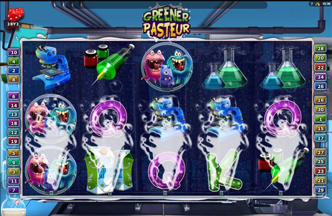 Greener Pasteur slot 2by2 Gaming