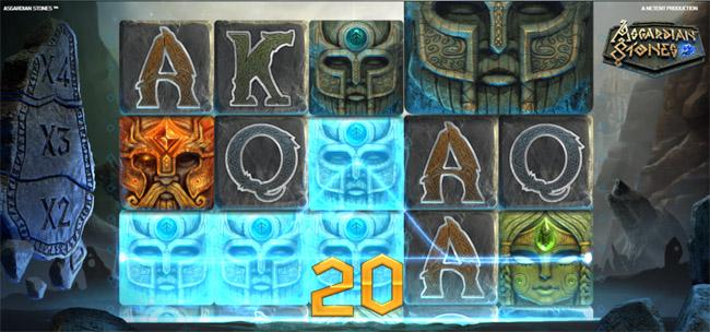 Asgardian Stones slot by NetEnt