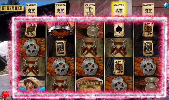 Gunsmoke slot by 2by2 Gaming