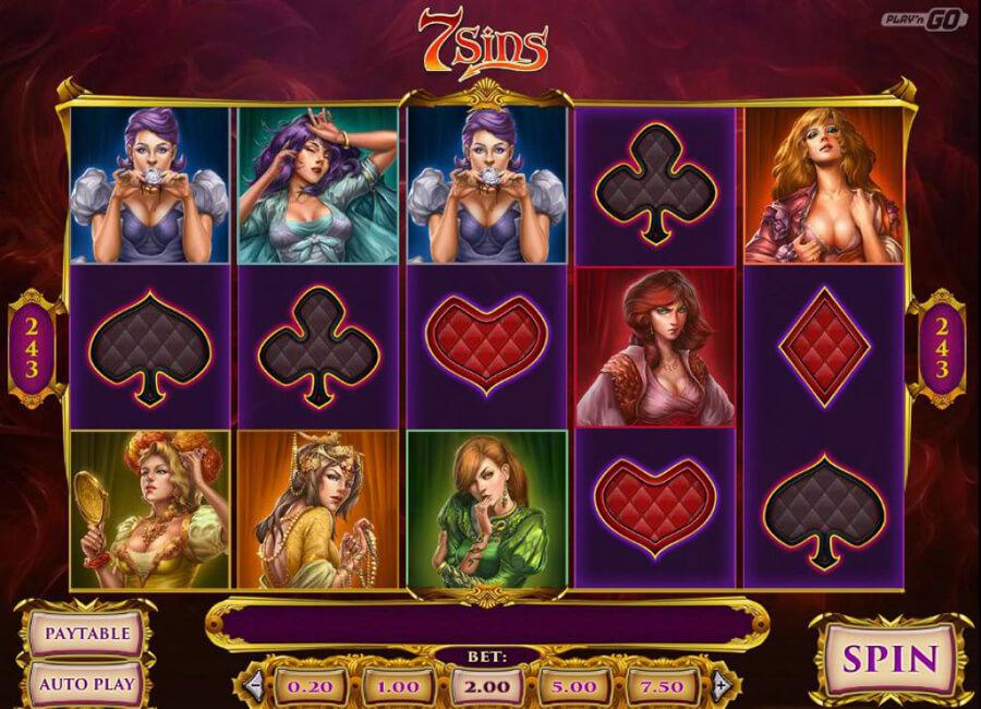 7 sins slot review