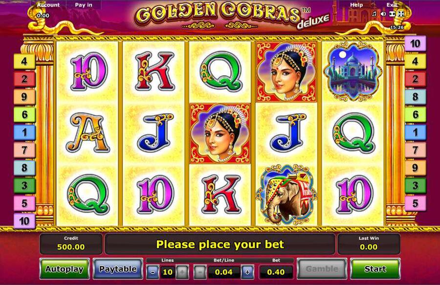 Golden Cobras slot review