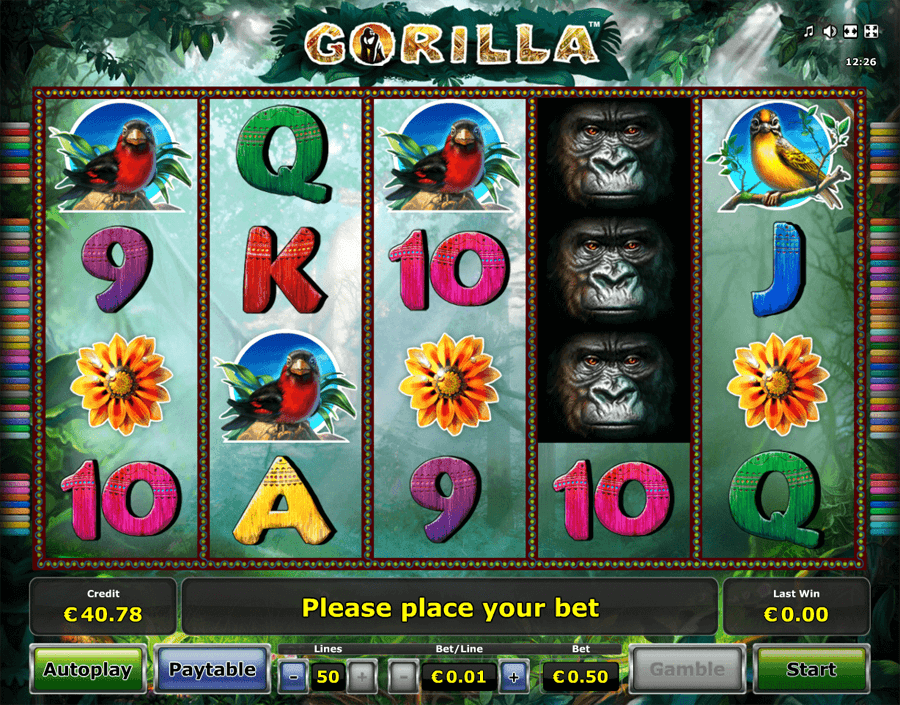 Gorilla slot review
