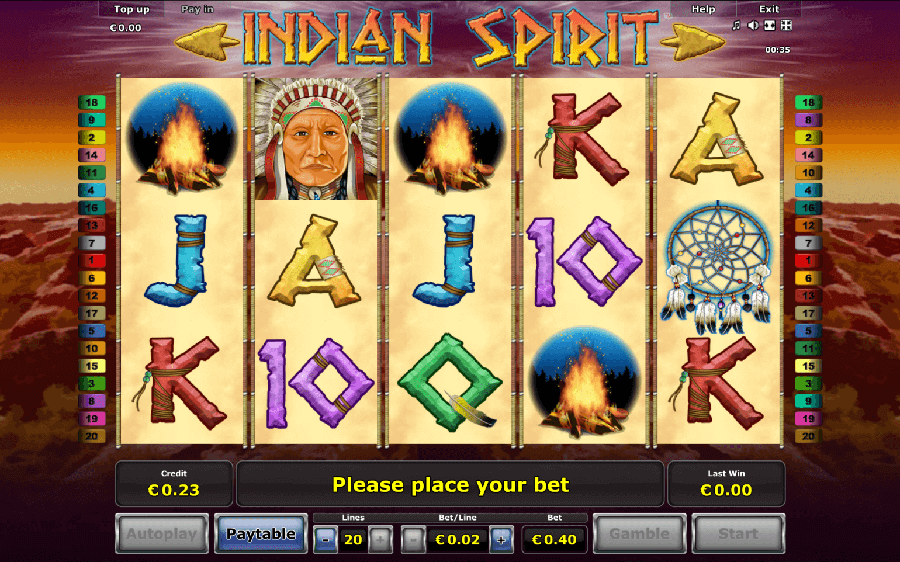 Indian Spirit slot review