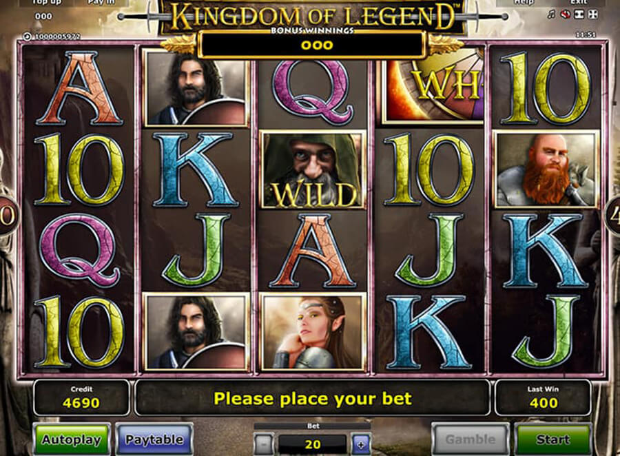 Kingdom of Legend slot review