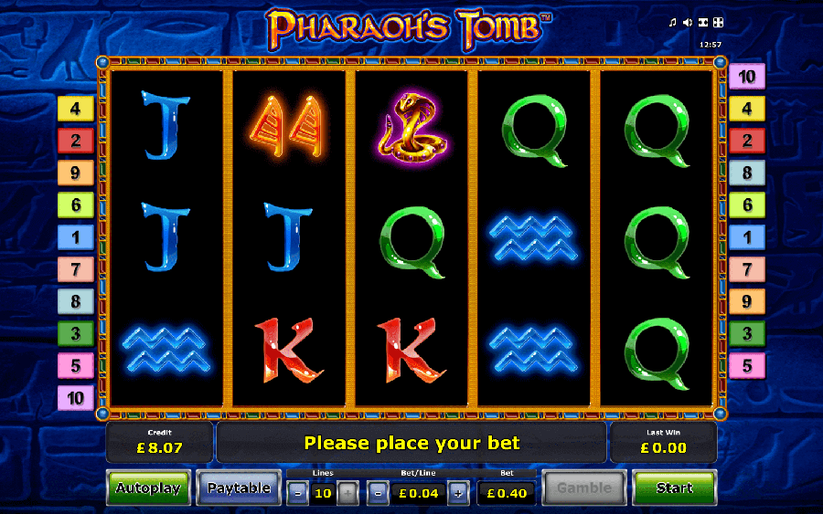 Pharaohs Tomb slot review