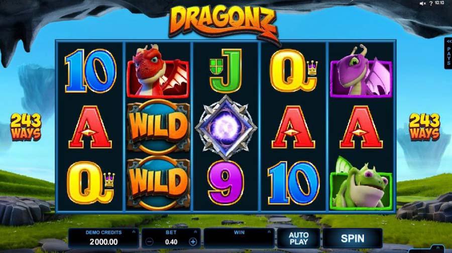 Dragonz slot review