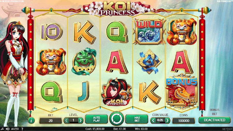 Koi Princess slot review