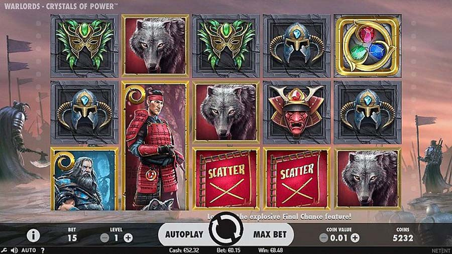 Warlords slot review