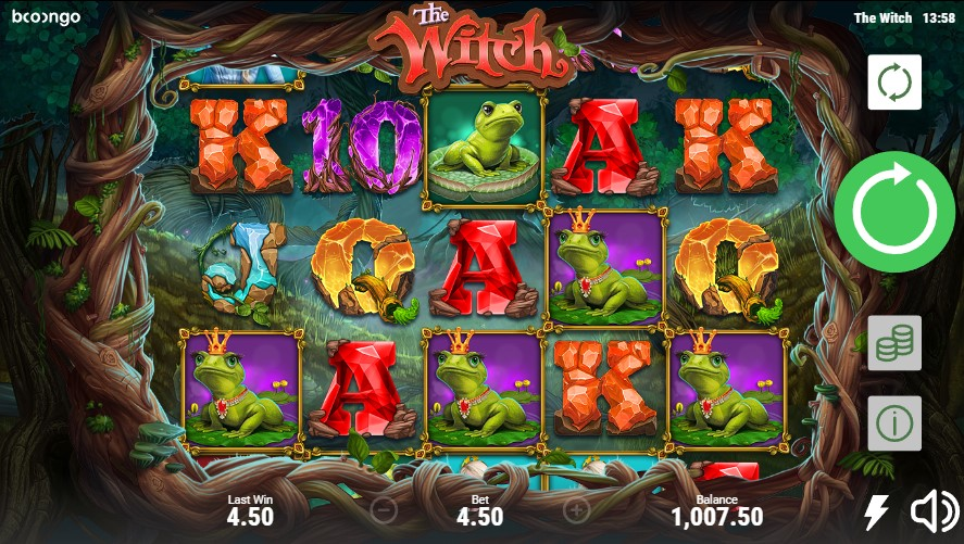 The Witch slot by Booongo