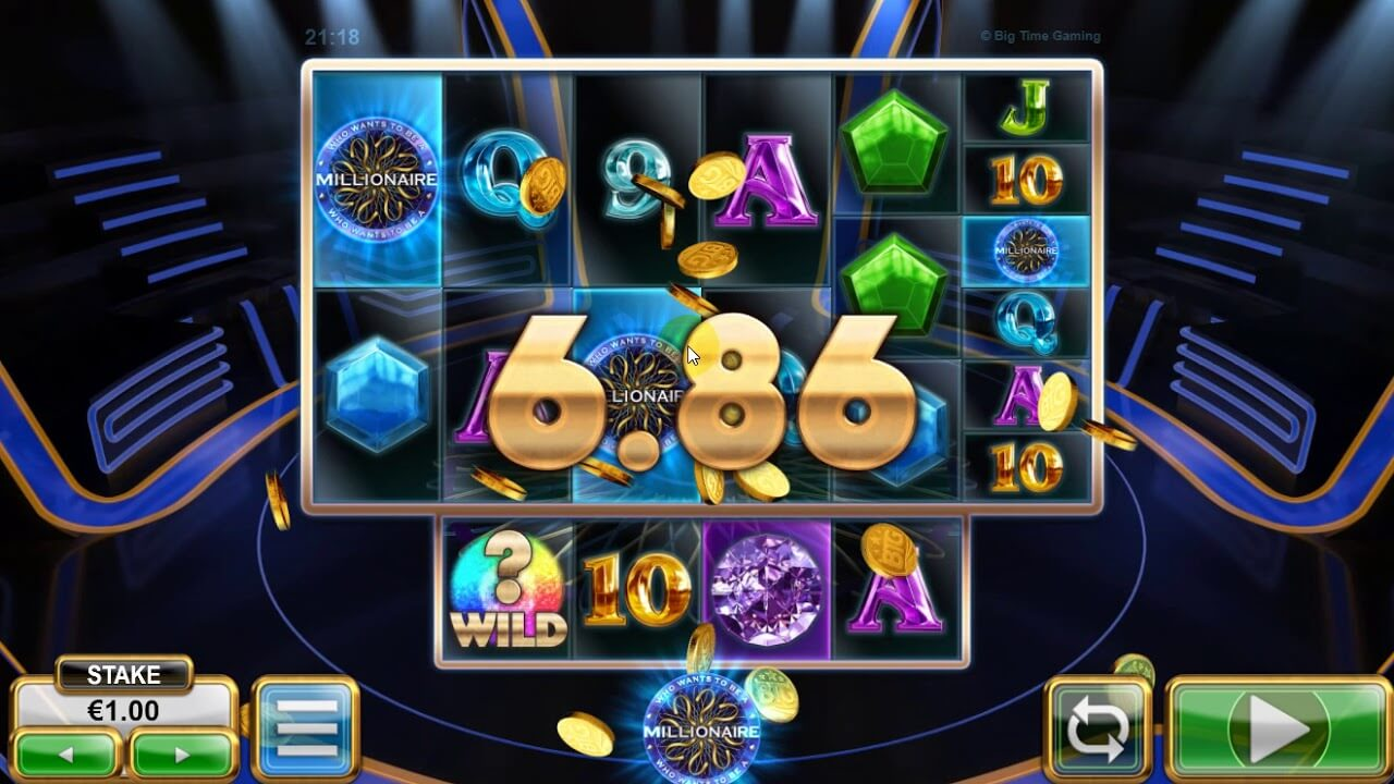 who wants to be a millionaire btg slot