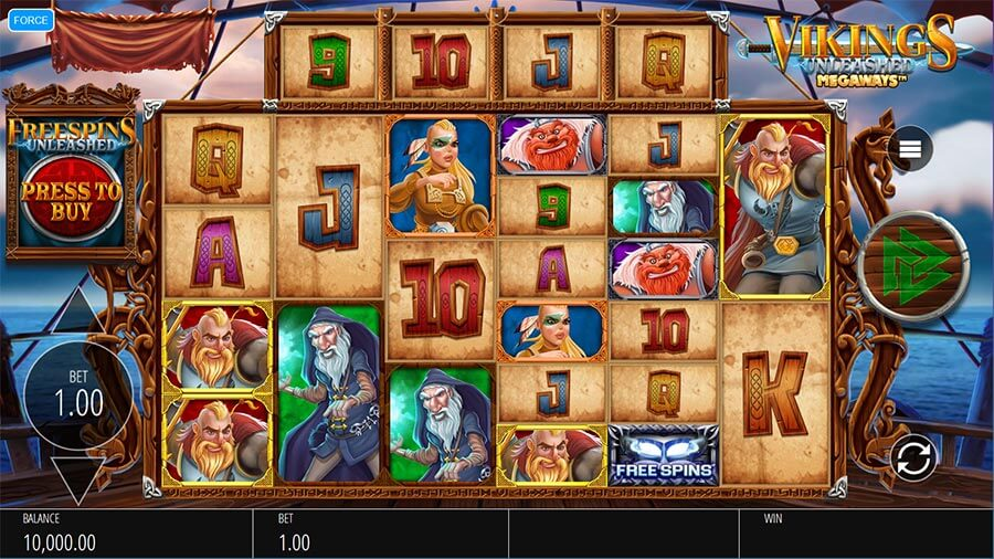 vikings unleashed slot