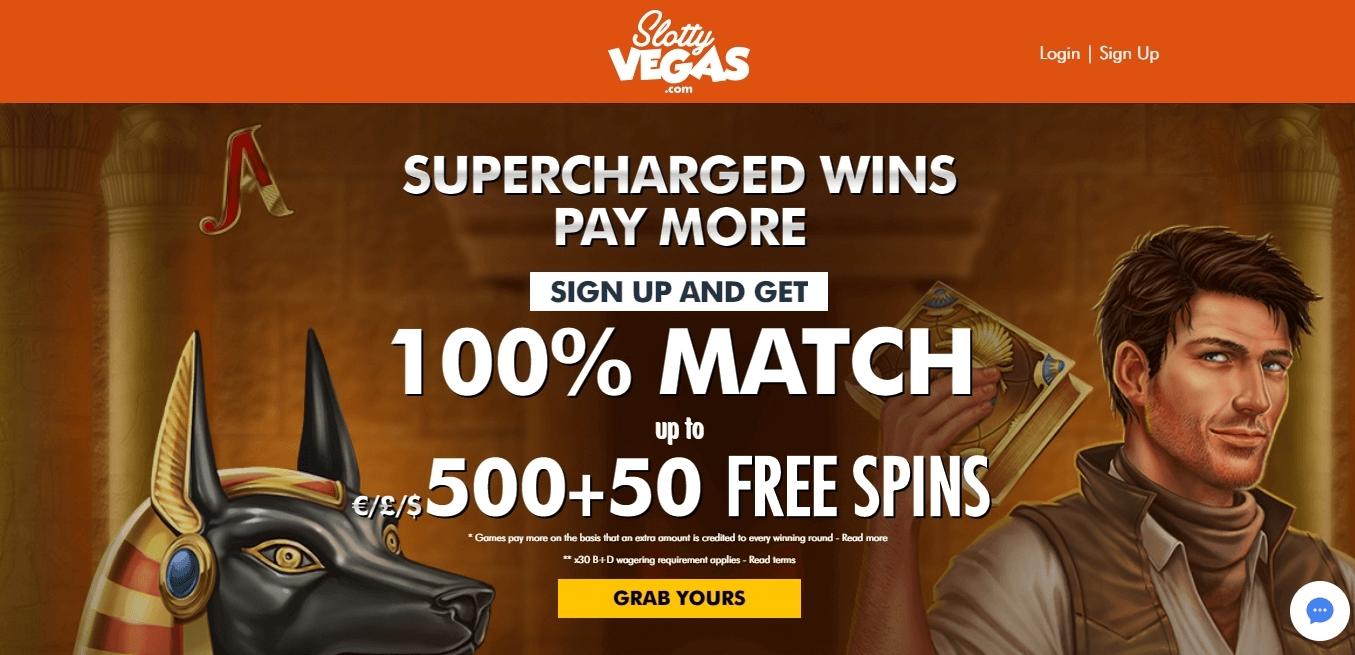 slottyvegas casino bonus