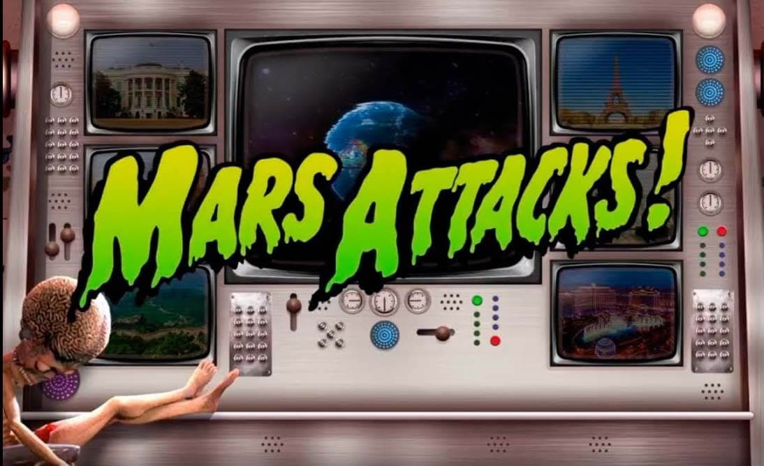 Check Out The New Mars Attacks! Slot From Blueprint Gaming