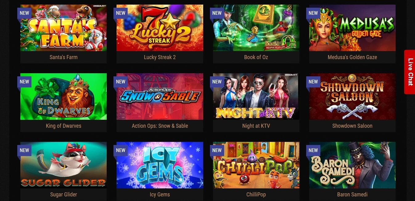 kingbilly casino slots