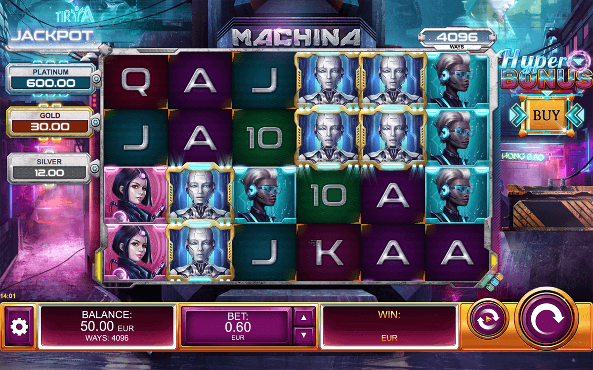 machina megaways slot