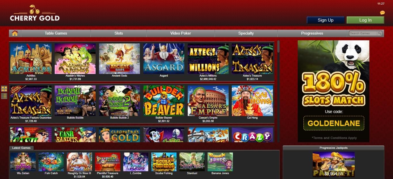 cherrygold casino slots