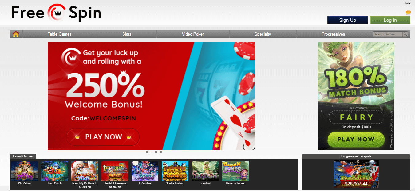 freespin casino bonus