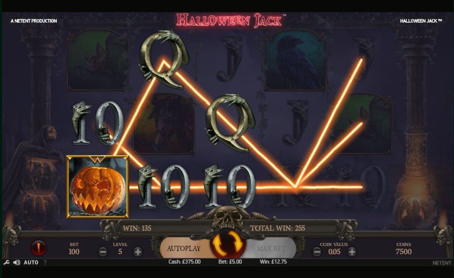 Halloween Jack video slot