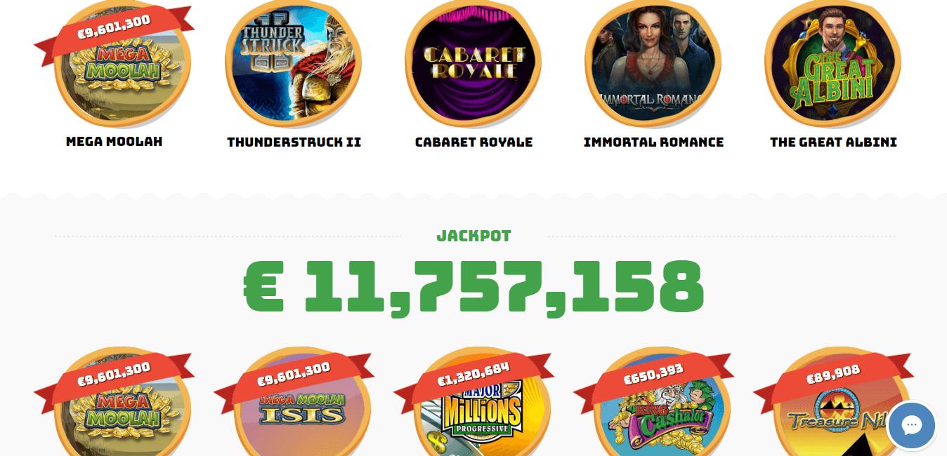 casino calzone slots