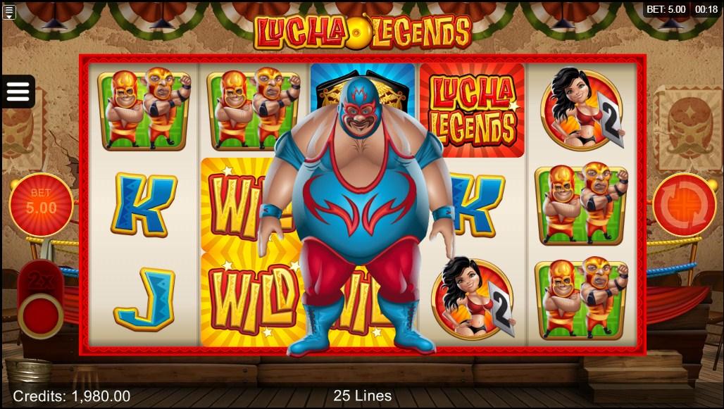Lucha Legends video slot