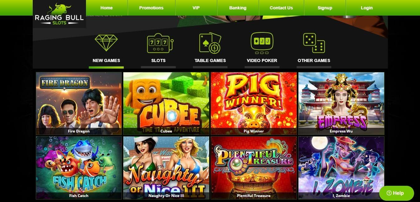 ragingbull casino slots