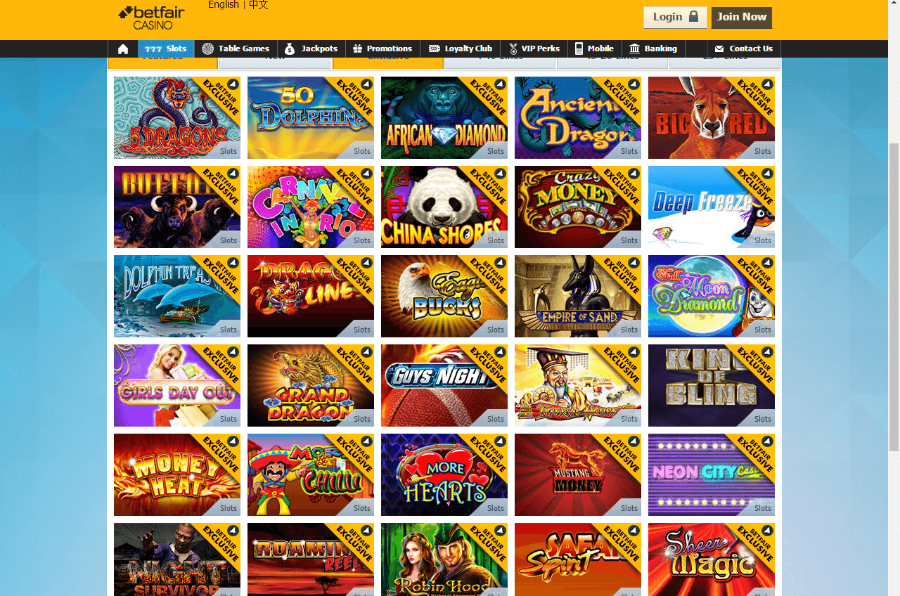 Play casino slot