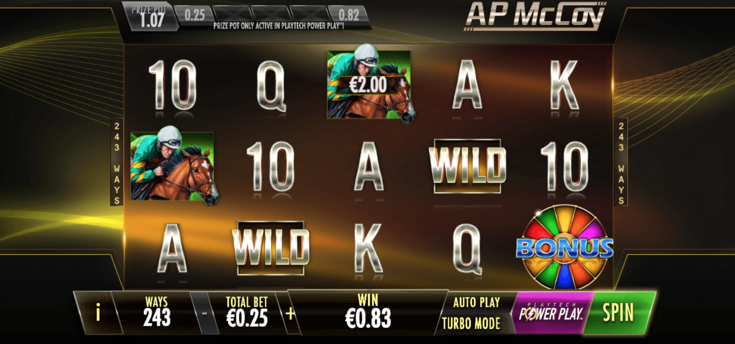 AP McCoy Slot
