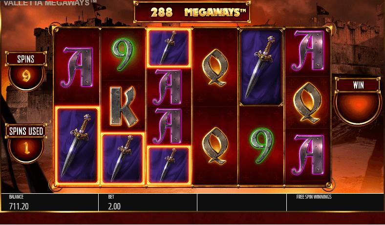 Valletta Megaways Slot Gameplay