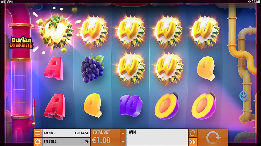 Durian Dynamite Slot Gameplay